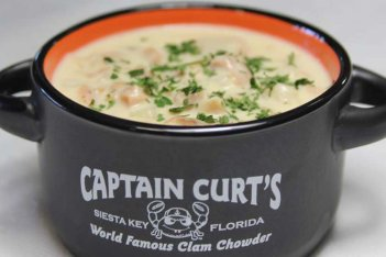 Clam chowder by Captain Curts