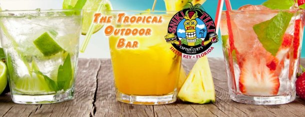 tropical outdoor bar siesta key