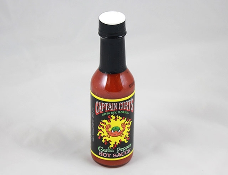 Garlic Pepper Hot Sauce Case