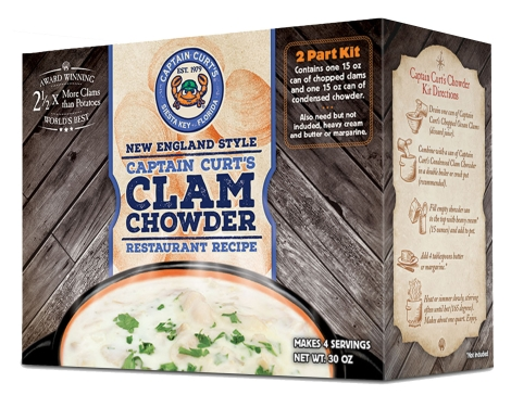 Clam Chowder - Canned Kit (2 Gallons)